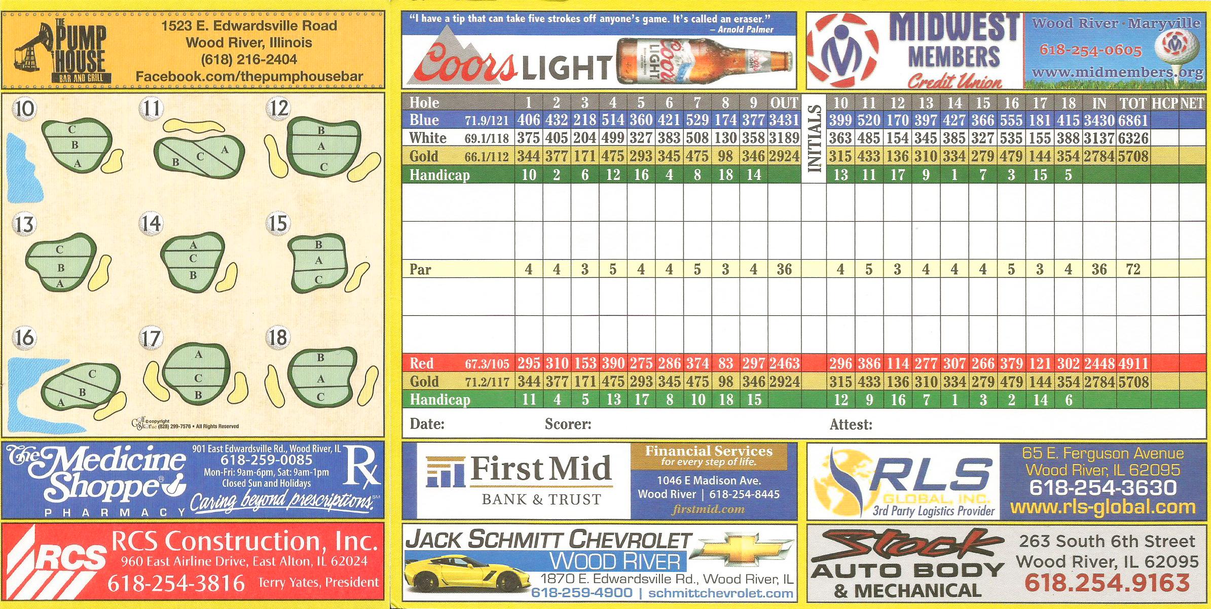 17+ Belk park golf course layout info